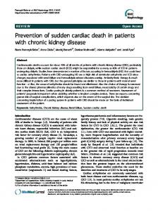 Prevention of sudden cardiac death in patients with ... - Springer Link