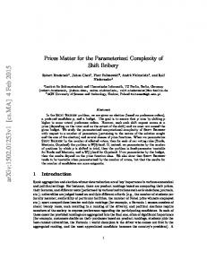 Prices Matter for the Parameterized Complexity of Shift Bribery