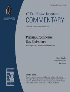 Pricing Greenhouse Gas Emissions