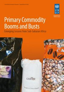 Primary Commodity Booms and Busts - UNDP in Africa