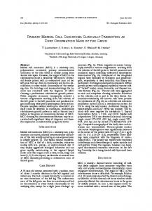 PRIMaRy MERkEl CEll CaRCInoMa ClInICally ... - Springer Link