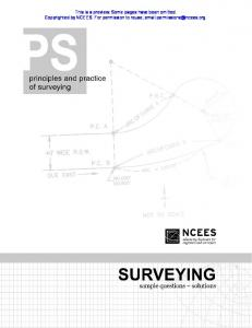 Principles and Practice of Land Surveying