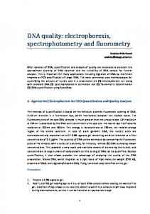 PRINCIPLES OF DNA ISOLATION AND PURIFICATION