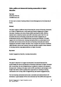 Print this article - University of Greenwich Journals and Working Papers