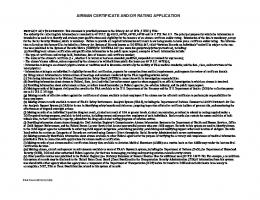 PRIVACY ACT STATEMENT - FAA Form 8610-2 - Federal Aviation ...