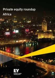 Private equity roundup Africa