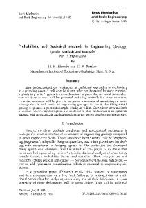 Probabilistic and statistical methods in engineering ... - Springer Link