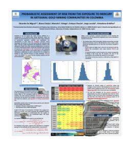 Probabilistic assessment of risk from the exposure to mercury in ...