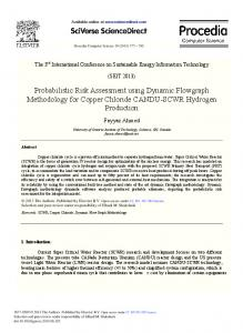 Probabilistic Risk Assessment Using Dynamic Flowgraph ... - Core
