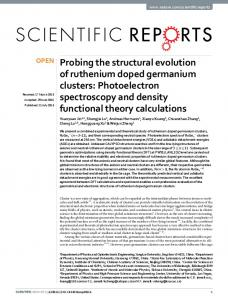 Probing the structural evolution of ruthenium doped germanium clusters