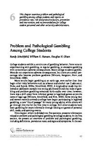 Gambling among college students casino rummy card game rules