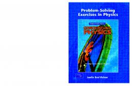 Problem Solving Exercises in Physics