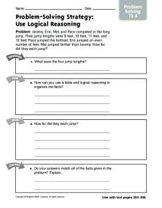 Problem-Solving Strategy: Use Logical Reasoning