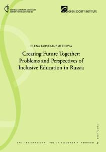 Problems and Perspectives of Inclusive Education in Russia - Policy ...
