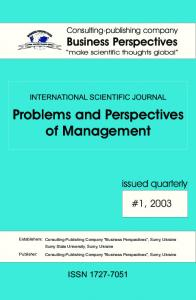 Problems and Perspectives of Management
