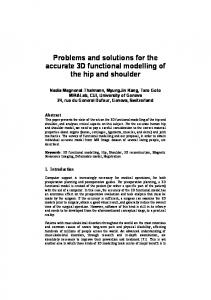 Problems and solutions for the accurate 3D ... - Semantic Scholar