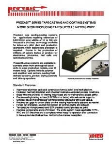 ProCast Series Thick Film Casters