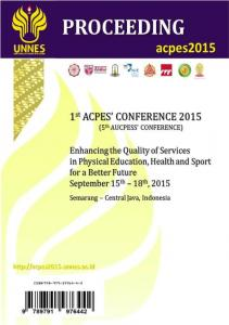 Proceeding International Conference of ACPES 2015