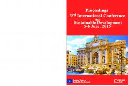 Proceedings 3rd International Conference on Sustainable