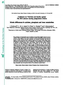 Proceedings of the Nutrition Society Ethnic ... - BioMedSearch