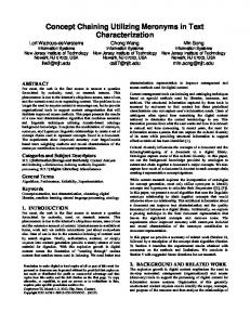 Proceedings Template - WORD - Information Services & Technology