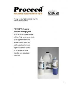Product Catalog - Proceed