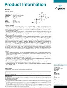 Product Information - Cayman Chemical