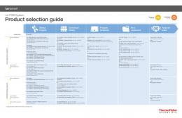 PRODUCT SELECTION GUIDE - Life Technologies