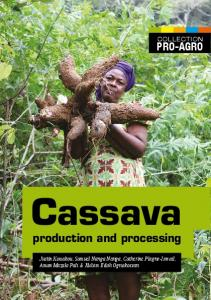 production and processing Cassava - CTA Publishing - Technical ...