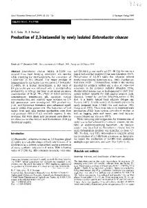 Production of 2,3-butanediol by newly isolated Enterobacter cloacae
