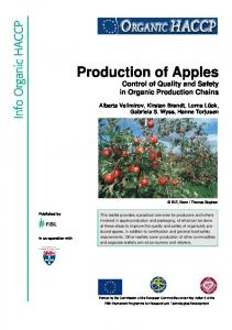 Production of Apples
