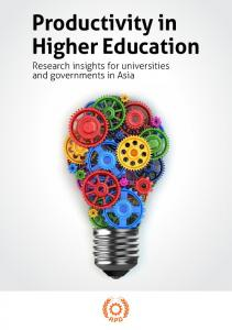 Productivity in Higher Education - Asian Productivity Organization