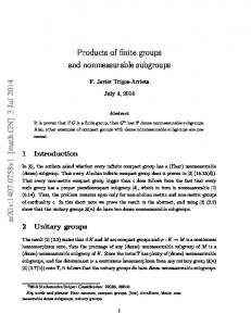 Products of finite groups and nonmeasurable subgroups