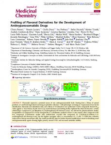 Profiling of flavonol derivatives for the development ... - ACS Publications