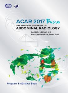 Program & Abstract Book - ACAR 2017