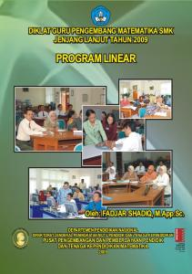 Program Linear - MGMP Matematika Satap Malang - WordPress.com