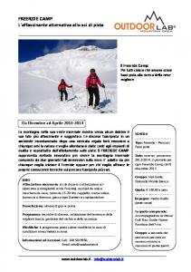 Programma Freeride Camp - Outdoorlab