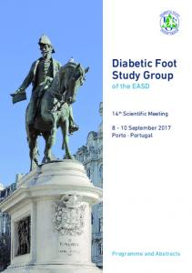 Programme - Diabetic Foot Study Group