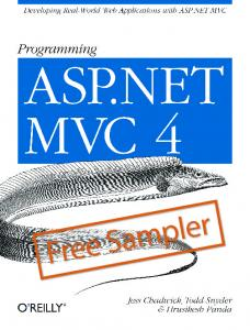 ASP NET MVC 4 Recipes - MAFIADOC COM
