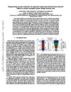Programming current reduction via enhanced asymmetry-induced ...