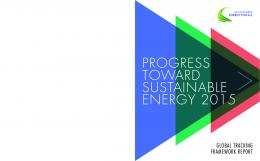 progress toward sustainable energy 2015