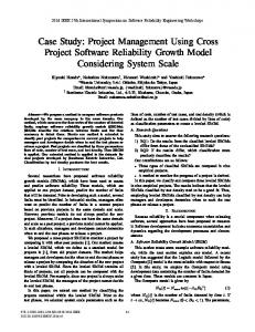 Project Management Using Cross Project Software ... - IEEE Xplore