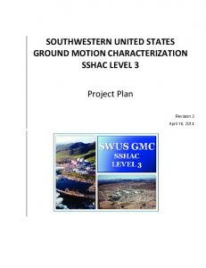 Project Plan - Pacific Gas and Electric Company