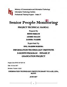 PROJECT TECHNICAL MANUAL Supervised By
