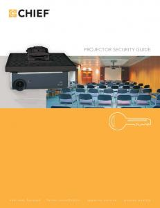 PROJECTOR SECURITY GUIDE