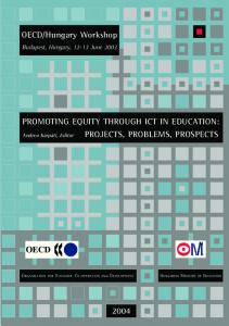 Promoting Equity Through ICT in Education - OECD.org