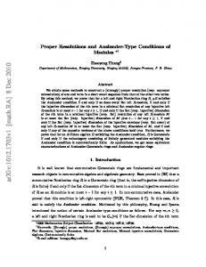 Proper Resolutions and Auslander-Type Conditions of Modules