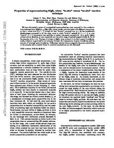 Properties of superconducting MgB_2 wires: