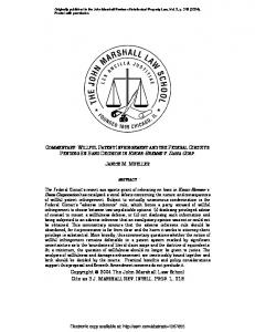 Proposal of - SSRN papers