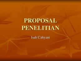 PROPOSAL PENELITIAN - File UPI
